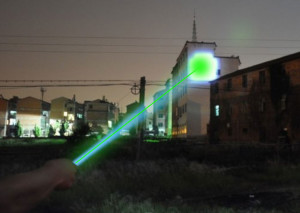 W5000 Survival Tactical Laser - building lighted spot