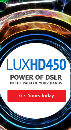the power of LUXHD450 DSLR