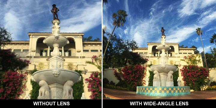 whide angle phone camera lens