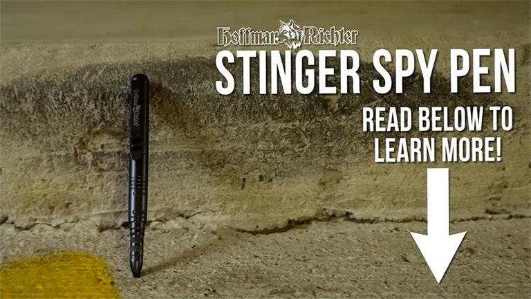 Stinger Spy Pen Product Review