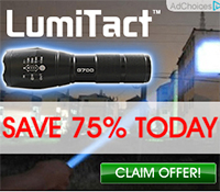 Lumitact G700 Tactical Flashlight