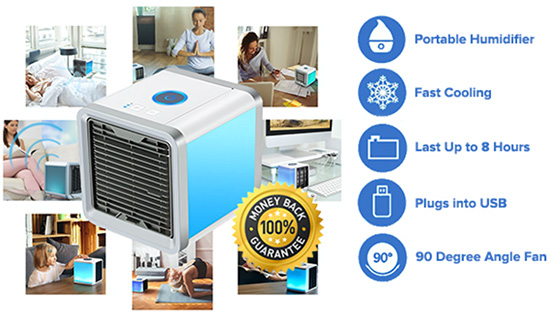 Fast Cool Air - Portable AC Unit